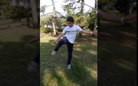 337拍子リズム運動③「足タッチ&高速手拍子」小中高生向け